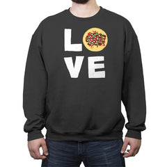 Love Tacos - Crew Neck Sweatshirt - Crew Neck Sweatshirt - RIPT Apparel