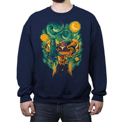 Starry Hunter - Crew Neck Sweatshirt - Crew Neck Sweatshirt - RIPT Apparel