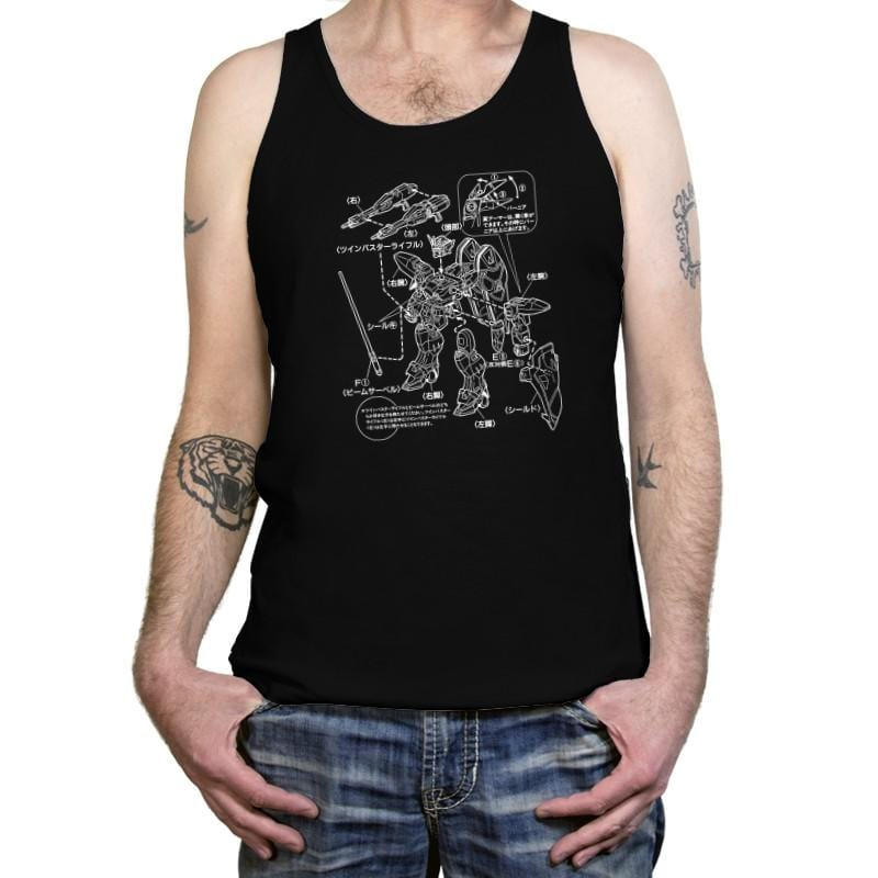 Modeling Skills Helpful Exclusive - Anime History Lesson - Tanktop - Tanktop - RIPT Apparel