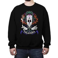 Calavera - Crew Neck Sweatshirt - Crew Neck Sweatshirt - RIPT Apparel