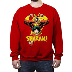 SHAZAM! - Crew Neck Sweatshirt - Crew Neck Sweatshirt - RIPT Apparel