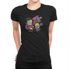 Invader Mal Exclusive - Womens Premium - T-Shirts - RIPT Apparel