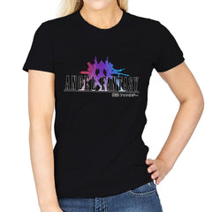 Angel Fantasy - Womens - T-Shirts - RIPT Apparel