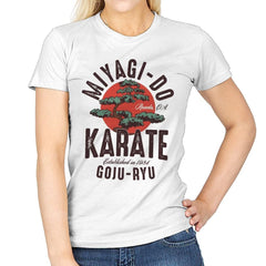 Miyago-Do Karate - Womens - T-Shirts - RIPT Apparel