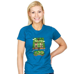 Super Console World - Womens - T-Shirts - RIPT Apparel