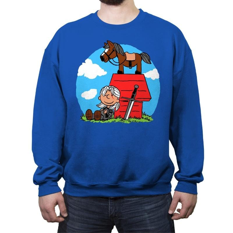 Geralty Brown - Crew Neck Sweatshirt - Crew Neck Sweatshirt - RIPT Apparel