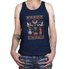 A Juicy Delicious Christmas - Tanktop - Tanktop - RIPT Apparel