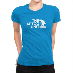 The Artoo Unit Exclusive - Womens Premium - T-Shirts - RIPT Apparel