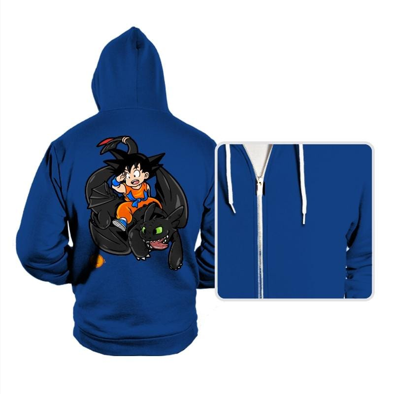 How to Train your Dragon Ball - Hoodies - Hoodies - RIPT Apparel