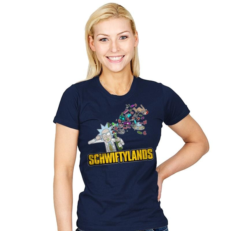 Schwiftylands - Womens - T-Shirts - RIPT Apparel