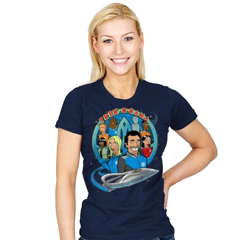 Trek-O-Rama - Womens - T-Shirts - RIPT Apparel