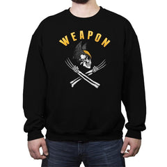 Weapon X Pirate Flag - Crew Neck Sweatshirt - Crew Neck Sweatshirt - RIPT Apparel