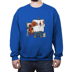 DEADLY AUTOPORTRAIT - Crew Neck Sweatshirt - Crew Neck Sweatshirt - RIPT Apparel