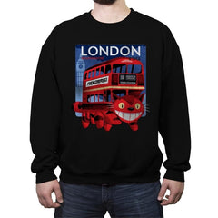 London Nekobasu - Crew Neck Sweatshirt - Crew Neck Sweatshirt - RIPT Apparel
