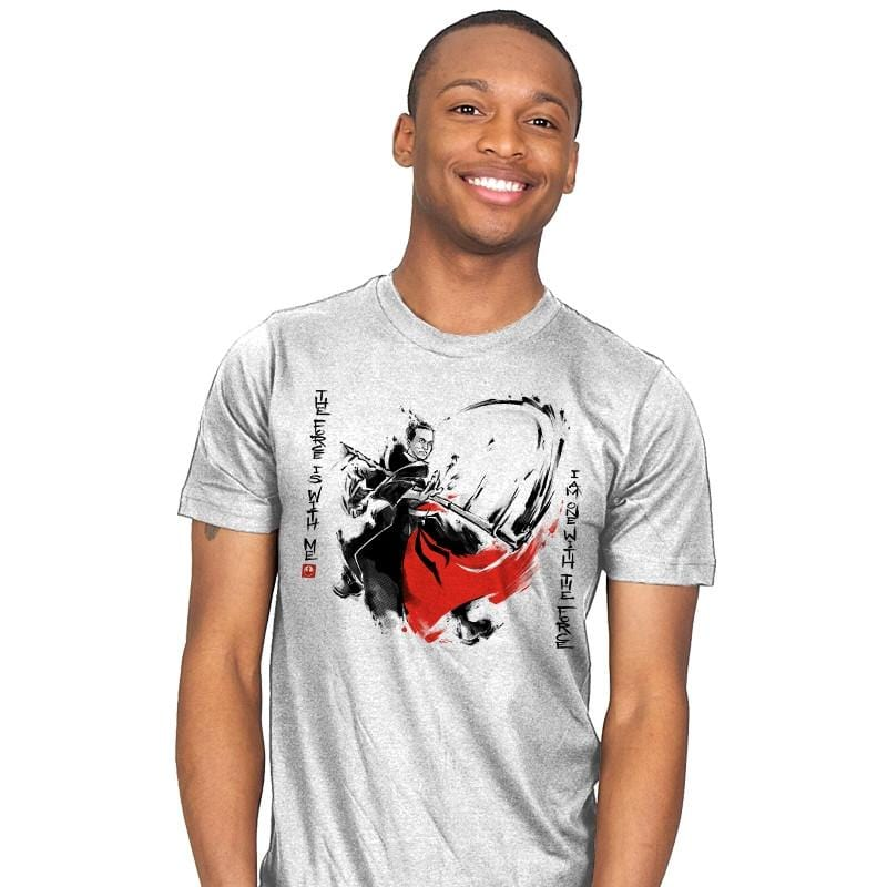 A Brush with the Force - Mens - T-Shirts - RIPT Apparel