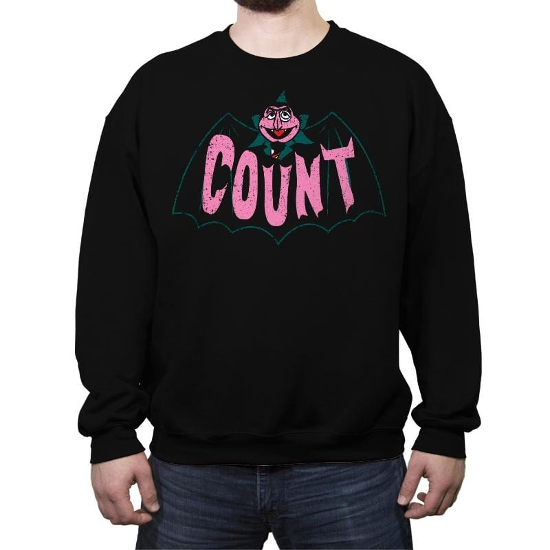 Count - Crew Neck Sweatshirt - Crew Neck Sweatshirt - RIPT Apparel