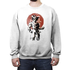 Saiyan Sun - Crew Neck Sweatshirt - Crew Neck Sweatshirt - RIPT Apparel