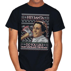 American Santa - Ugly Holiday - Mens - T-Shirts - RIPT Apparel