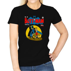 Butt-Man Exclusive - Womens - T-Shirts - RIPT Apparel