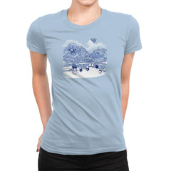Mt. Droidmore Exclusive - Womens Premium - T-Shirts - RIPT Apparel