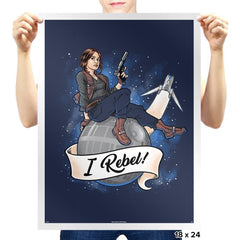 I Rebel! Exclusive - Prints - Posters - RIPT Apparel