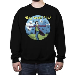 The Sound of Joker - Crew Neck Sweatshirt - Crew Neck Sweatshirt - RIPT Apparel