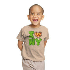 I PIZZA NY - Youth - T-Shirts - RIPT Apparel