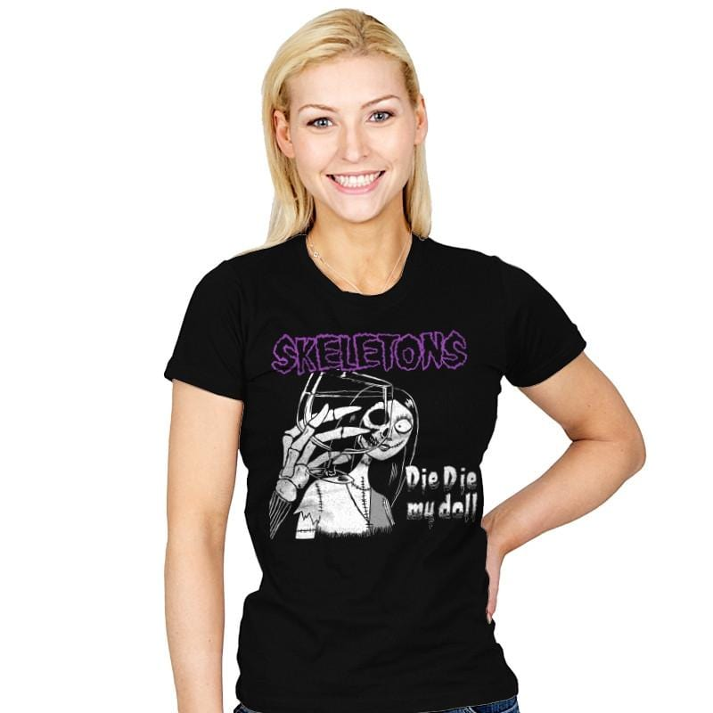 Die Die My Doll - Record Collector - Womens - T-Shirts - RIPT Apparel