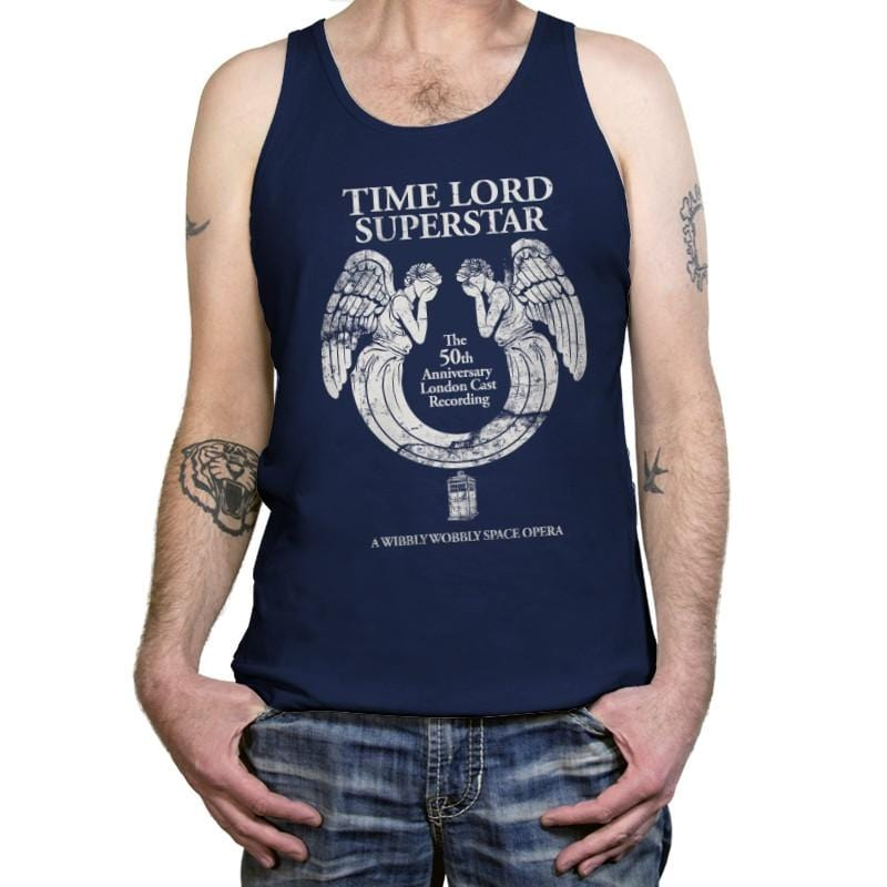 Time Lord Superstar - Record Collector - Tanktop - Tanktop - RIPT Apparel