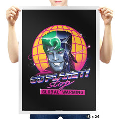 Rad Planet - Prints - Posters - RIPT Apparel