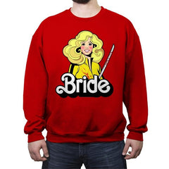Bride - Crew Neck Sweatshirt - Crew Neck Sweatshirt - RIPT Apparel