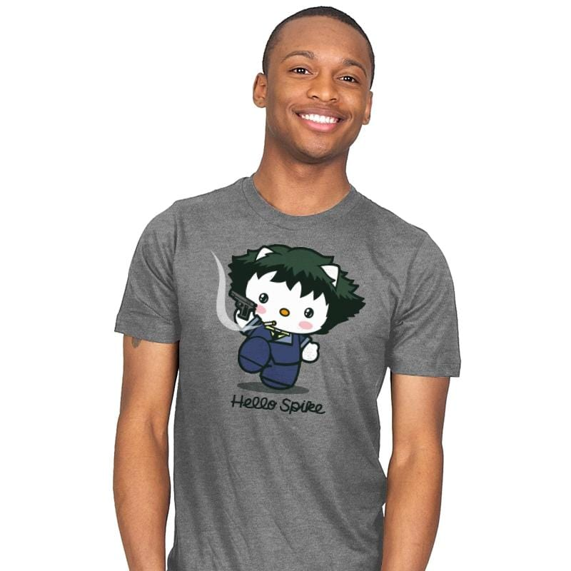 Hello Spike - Mens - T-Shirts - RIPT Apparel
