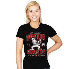 New York City Bustin' Ghosts - Womens - T-Shirts - RIPT Apparel