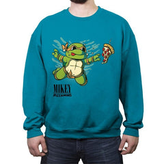 MIKEY - Pizzamind - Crew Neck Sweatshirt - Crew Neck Sweatshirt - RIPT Apparel