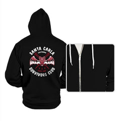 Santa Carla Survivors Club - Hoodies - Hoodies - RIPT Apparel