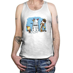 The Snow Dalek Exclusive - Tanktop - Tanktop - RIPT Apparel