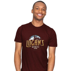 Logan's Motorcycle Repair - Mens - T-Shirts - RIPT Apparel