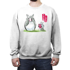 Ghibli ink - Crew Neck Sweatshirt - Crew Neck Sweatshirt - RIPT Apparel