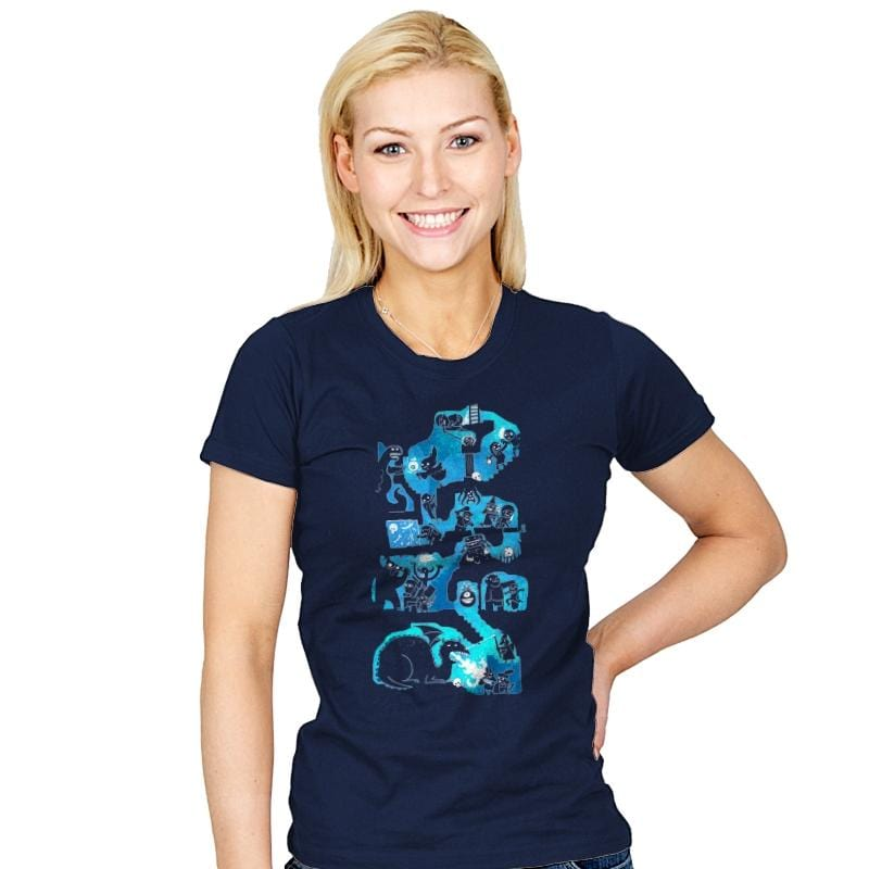 Dungeon Crawlers - Womens - T-Shirts - RIPT Apparel