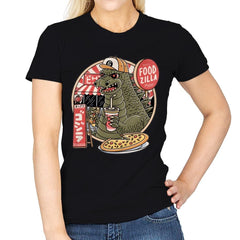 Foodzilla - Womens - T-Shirts - RIPT Apparel