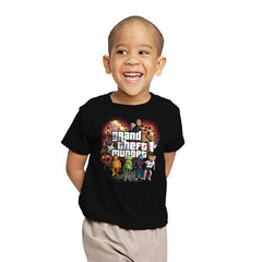 Grand Theft Muppet Exclusive - Youth - T-Shirts - RIPT Apparel