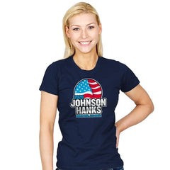 Johnson Hanks 2020 - Star-Spangled - Womens - T-Shirts - RIPT Apparel