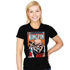 Kingpin #1 - Womens - T-Shirts - RIPT Apparel