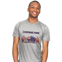 LIGHTNING PARK - Mens - T-Shirts - RIPT Apparel