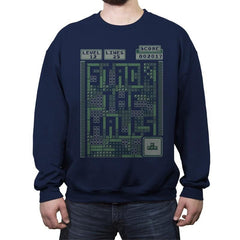 Stack the Halls - Ugly Holiday - Crew Neck Sweatshirt - Crew Neck Sweatshirt - RIPT Apparel