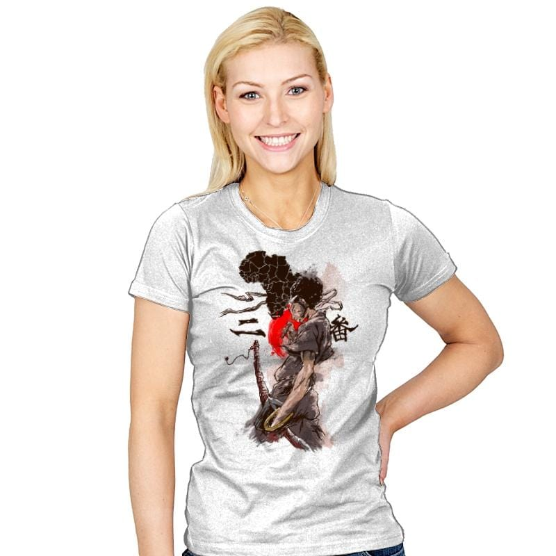 From Africa to Japan - Womens - T-Shirts - RIPT Apparel