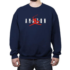 Air Amazon - Crew Neck Sweatshirt - Crew Neck Sweatshirt - RIPT Apparel