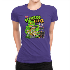 Slimer's Ect-O's Exclusive - Womens Premium - T-Shirts - RIPT Apparel