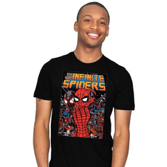 Infinity Spiders - Mens - T-Shirts - RIPT Apparel