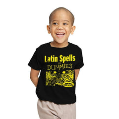 Latin Spells for Dummies - Youth - T-Shirts - RIPT Apparel